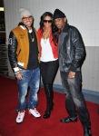 Chris Brown, Ciara and Fabolous