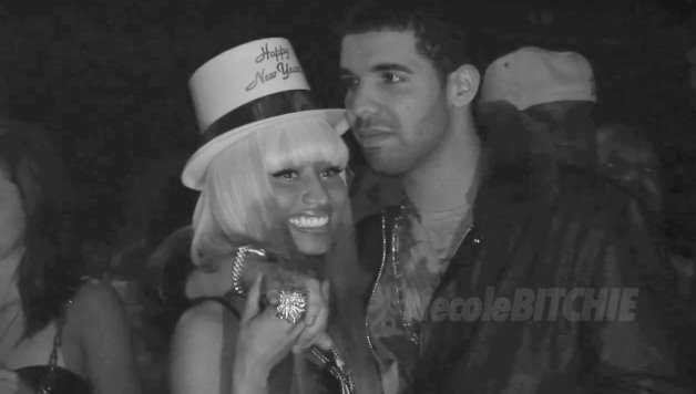 Drake and Nicki Minaj SEEM to be really feelin' each other.