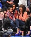 Ciara-Lala-and-Kiyan-at-the-Knicks-Game